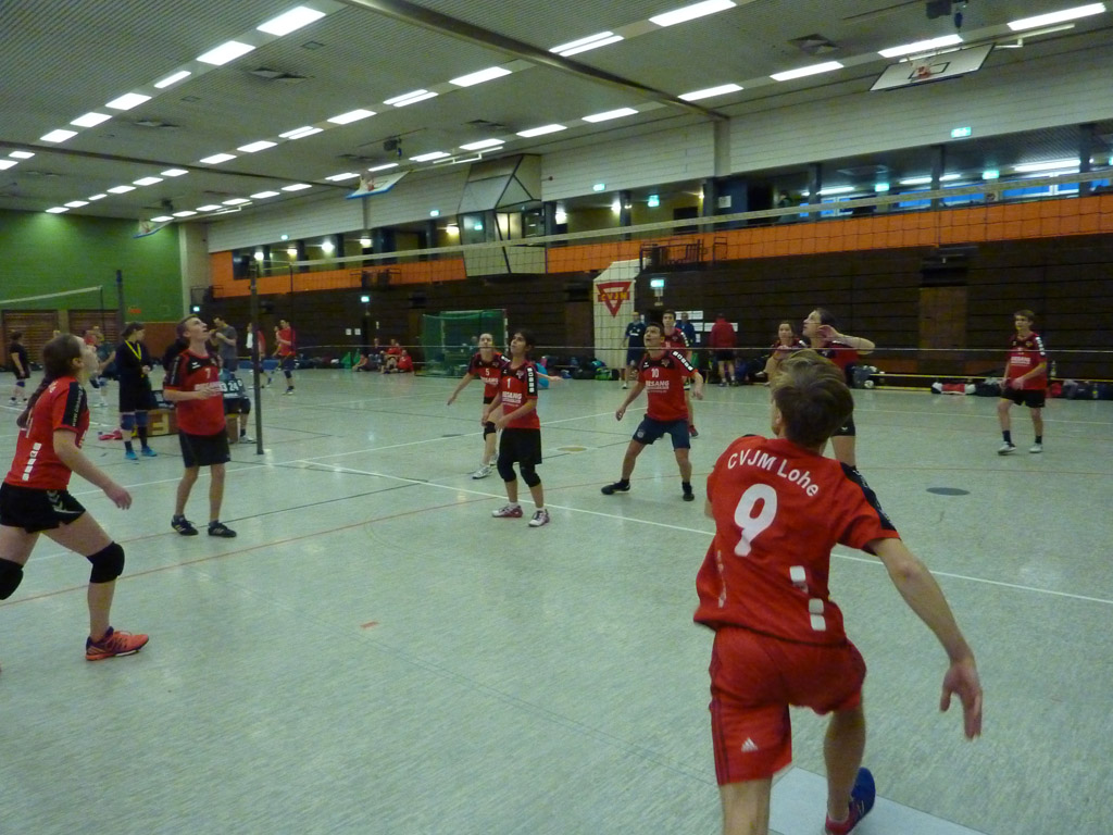 Volleyballturnier CVJM Laar