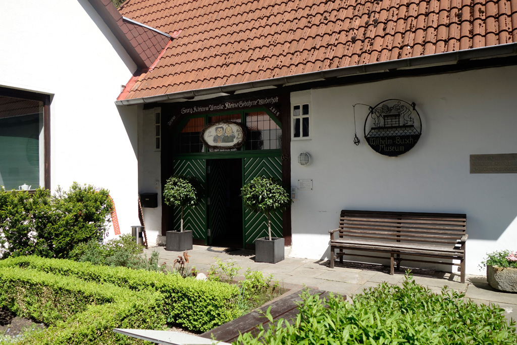 Geburtshaus von Wilhelm Busch in Wiedensahl