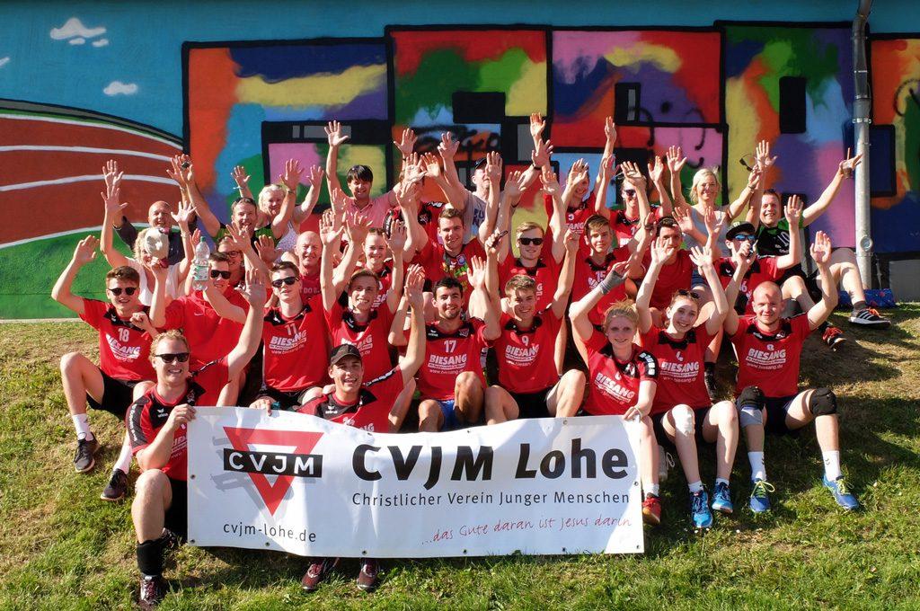 CVJM Lohe beim Volleyball-Open-Air in Kierspe 2018